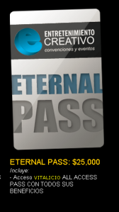 Eternal Pass 2014